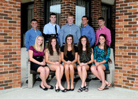 2012-13 Homecoming Court