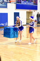 Franklin Monroe Cheerleaders vs Tri-Village